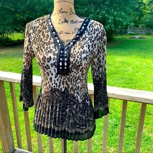 Signature by Larry Levine Top Size S